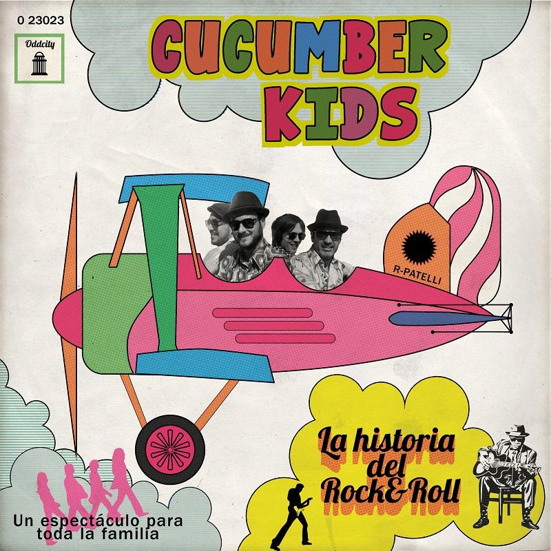 13 octubre (martes) 12hs mediodía: The Cucumbers Kids para el Pilar en la Plaza del Justicia