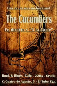 Cartel 12 mayo The Cucumberts Rock & Blues