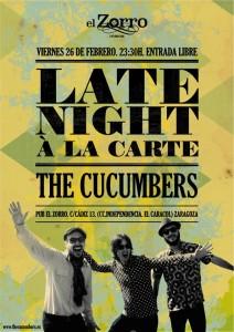 The Ccucumbers en El Zorro Pub