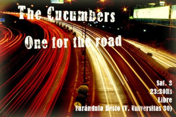 Sábado 3 septiembre – Farándula Resto – 23:30hs – Libre – «One for the road»