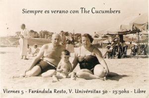 The Cucumbers en Farándula 5 agosto