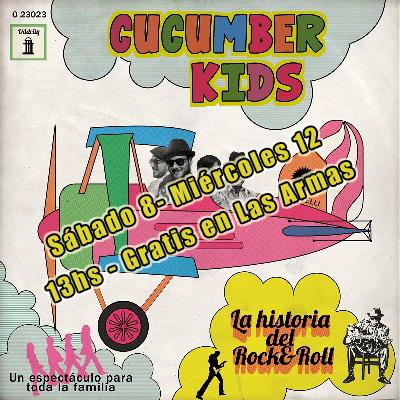Sábado 8 y Miércoles 12 – La loca historia del Rock & Roll con los Kids en Las Armas! A las 13hs y Gratis!