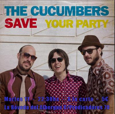 Martes 11 de Pilares – Save your Party! – 22:30Hs – 5€ – Rock & Roll Classics en La Bóveda del Albergue