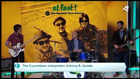 «Jhonny B. Goode» by The Cucumbers – Canción + Entrevista