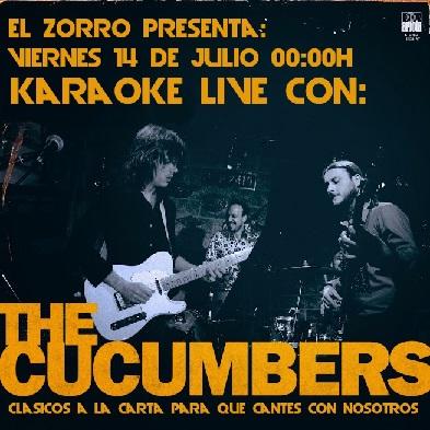Karaoke Live! en El Zorro – Viernes 14/7 – 00:00hs Late Night – Gratis!