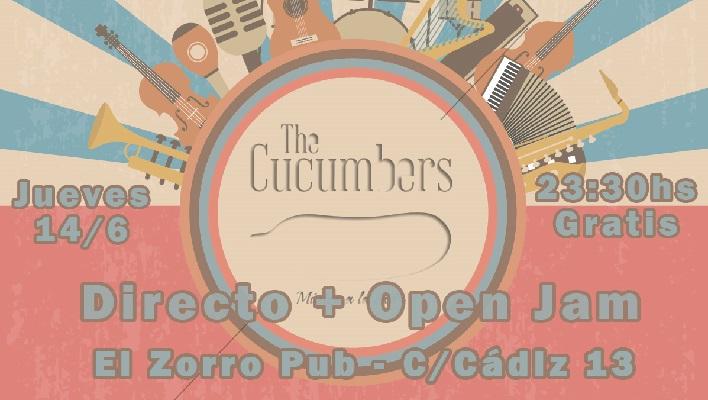 En Directo + Open Jam – Jueves 14/6 – 23:30hs Gratis – El Zorro Pub