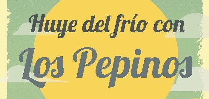 ¡Huye del frío con Los Pepinos! – Jueves 1/11 – El Zorro Pub